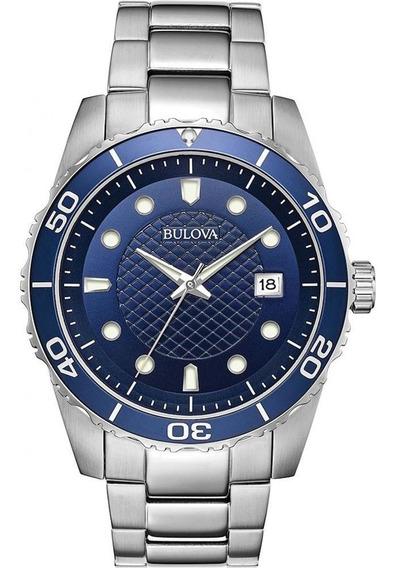 Relógio Masculino Bulova Sport Azul 98a194