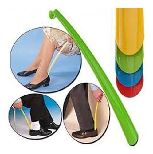 Calzador De Zapatos Pie  Botas 43 Cm Colores Largo