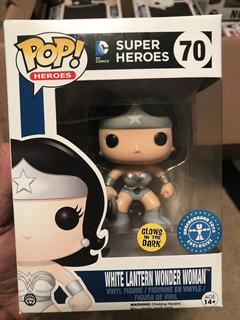 Funko Pop! White Lantern Wonder Woman Exclusive Glows Dc