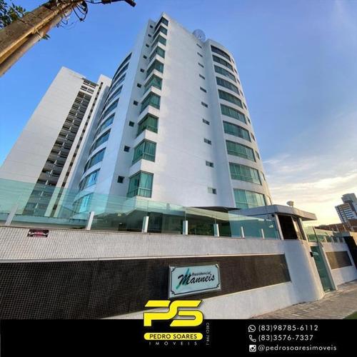 Apartamento Com 3 Dormitórios À Venda, 121 M² Por R$ 319.000,00 - Santo Antônio - Campina Grande/pb - Ap3962