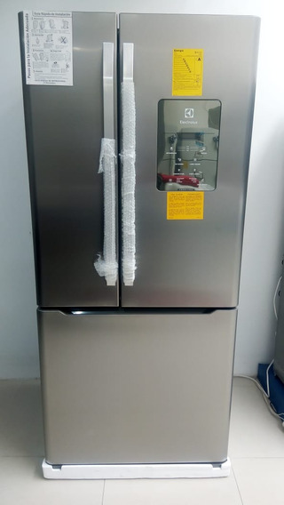 Refrigeradora Electrolux French Door Dm84x Inverse