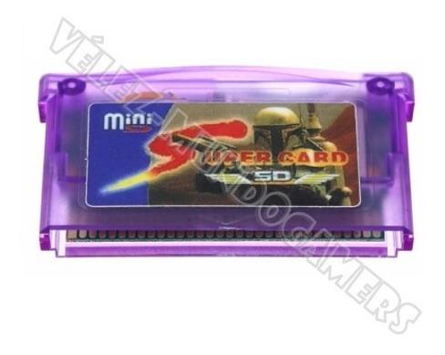 Cartucho Mini Super Card Gameboy Advance Todo En 1