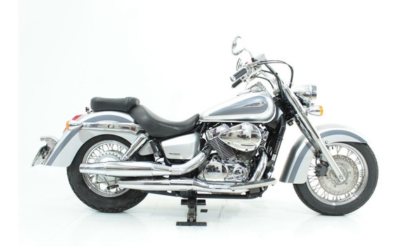 Honda Shadow 750 2010 Prata
