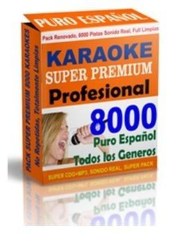 Disfruta Karaoke Premium Pack Español - Sonido Original
