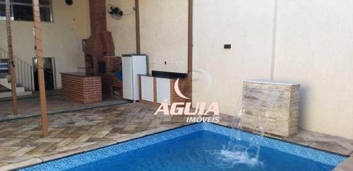 Imagem 1 de 22 de Sobrado À Venda, 358 M² Por R$ 900.000,00 - Vila Clarice - Santo André/sp - So1568
