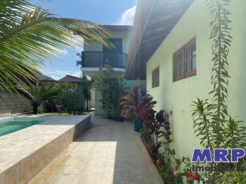 Imagem 1 de 25 de Ca00266 - Casa Em Ubatuba Com 4 Dormitórios, A 550 Metros Da Praia Do Lazaro - Ca00266 - 34328801