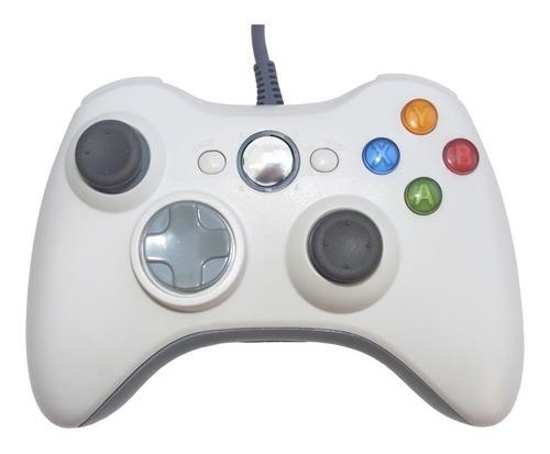Imagen 1 de 7 de Control Gamepad Xbox 360 Alambrico Usb Pc