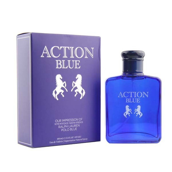 Action Blue Edt 100 Ml - The Preferred Collection