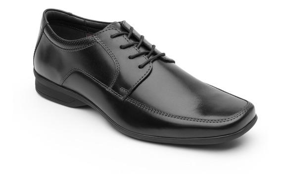 Zapato De Vestir Para Oficina Flexi Caballero 402205 Negro