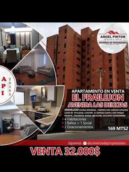 Apartamento En Venta, Avenida Delicias Edificio Frailejón Kv
