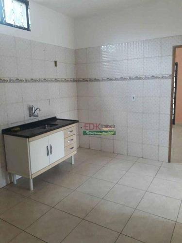 Imagem 1 de 6 de Casa Com 3 Dormitórios À Venda, 120 M² Por R$ 245.000,00 - Jardim Ana Rosa - Taubaté/sp - Ca6271