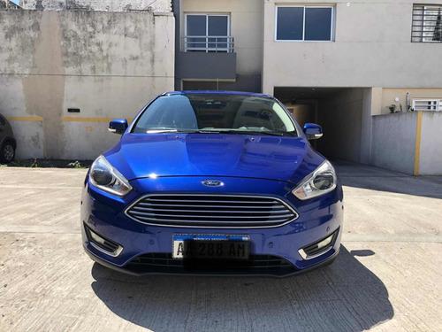 Ford Focus Iii 2.0 Sedan Titanium Mt Primer Dueño S. Ofic!!!