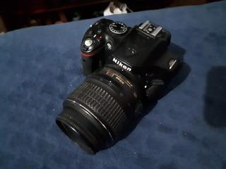 Cámara Nikon D5200 - Dslr Lente 18-55 Mm