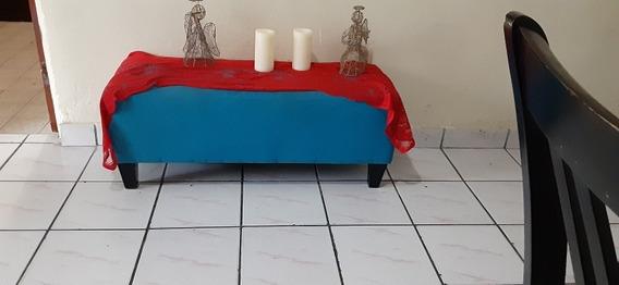 Mesa Con 4 Pata Azul