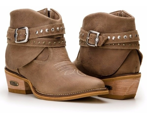Bota Texana Feminina Country Montaria Capelli Boots