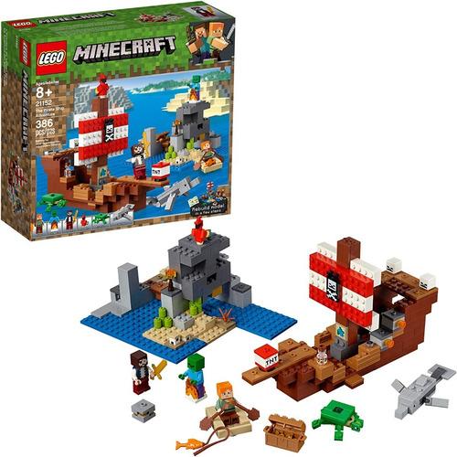 Lego Minecraft 21152 La Aventura Del Barco Pirata