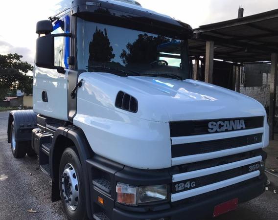 Scania T 124 360 - 4x2 - 2001 - Primeiro Caminhão