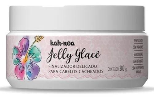 Imagem 1 de 3 de Finalizador Suave Para Cachos Jelly Glacê 200g - Kah Noa