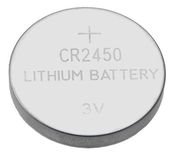 Bateria Cr2450 3v Lithium Novo Pilha Botão - 1 Unidade