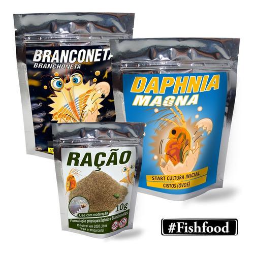 Start Artêmia Branchoneta + Daphnia Magna + Ração