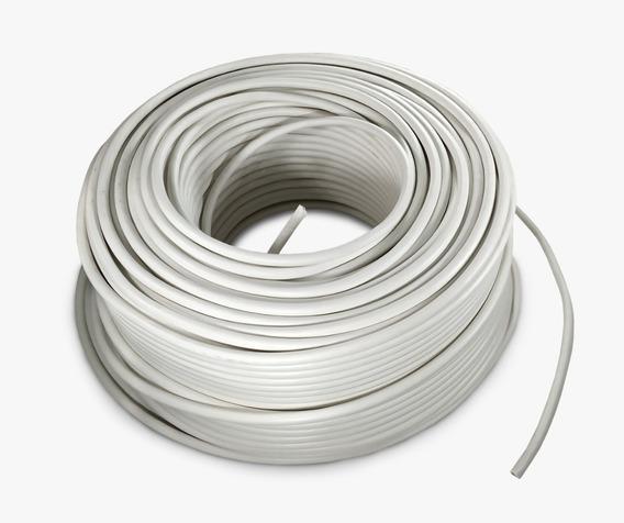 Cable Eléctrico Calibre 10 Thw Alucobre 100m Unipolar Blanco