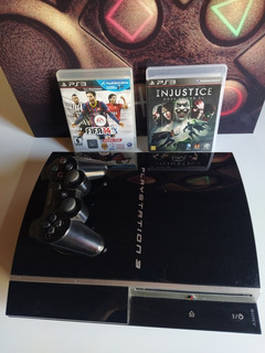 Playstation 3 Fat 160gb + 2 Juegos + Joystick Sony Original