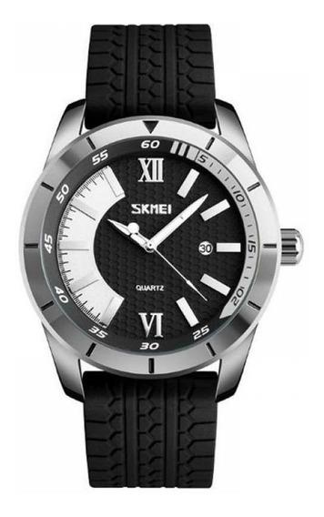Relógio Masculino Skmei Analógico 9151 Prata