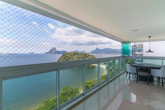 Apartamento Em Boa Viagem, Niterói/rj De 423m² 4 Quartos Para Locação R$ 11.000,00/mes - Ap284529