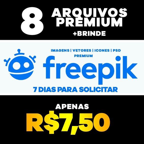 8 Freepik Premium (imagens, Fotos, Vetores, Icones E Psd)
