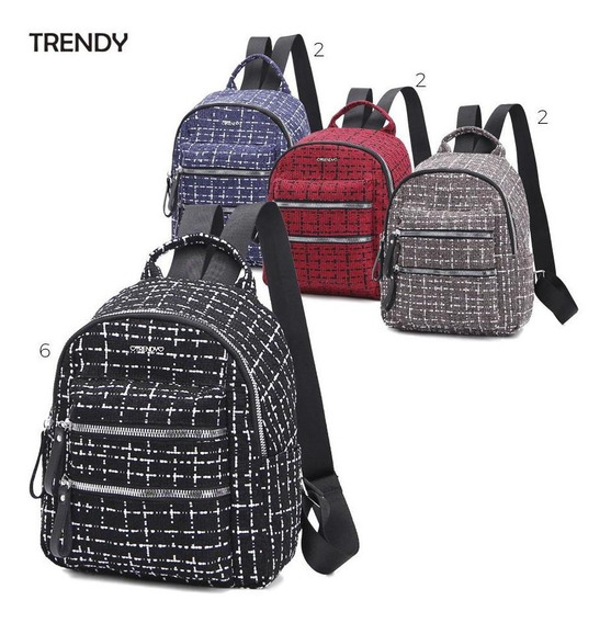 Mochila Tejida Trendy By Ibbags 20240 *p