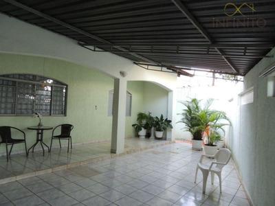 Casa Residencial À Venda, Jardim Planalto, Paulínia - Ca0125. - Ca0125