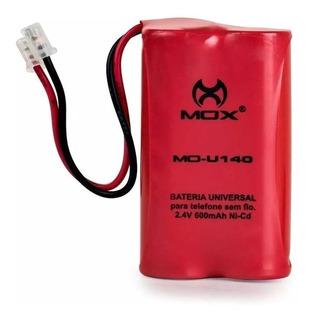 Bateria P/ Telefone Sem Fio U140 Mox 2,4v 600mah