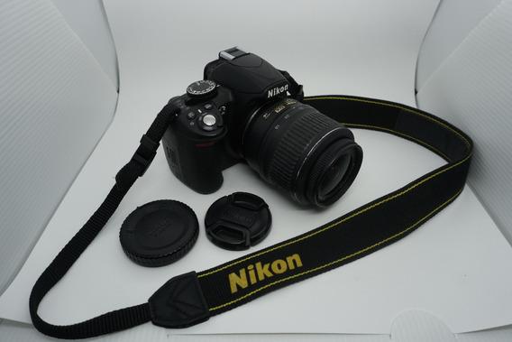 Nikon D3100 + Lente 18-55 + 8gb + Bolsa - Como Nova