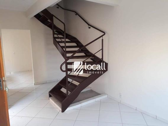 Casa Com 2 Dormitórios À Venda, 69 M² Por R$ 225.000 - Parque Jaguaré - São José Do Rio Preto/sp - Ca2034
