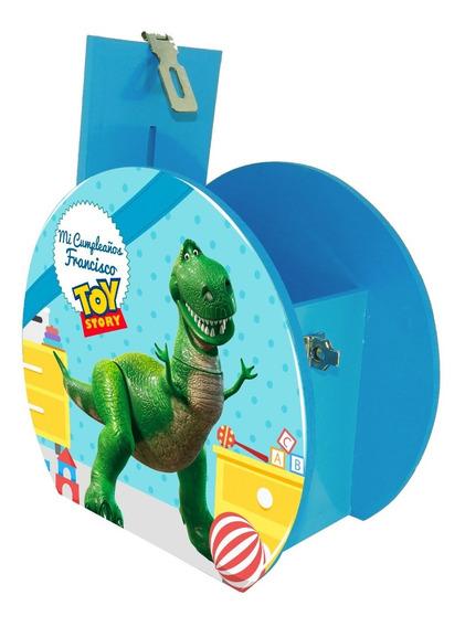 Alcancía Dulcero Centro Mesa Toy Story Rex Personaliza