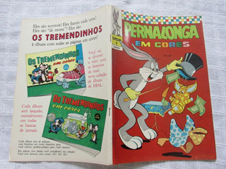 Pernalonga Em Cores Especial 6 - Ebal - Abril De 1972
