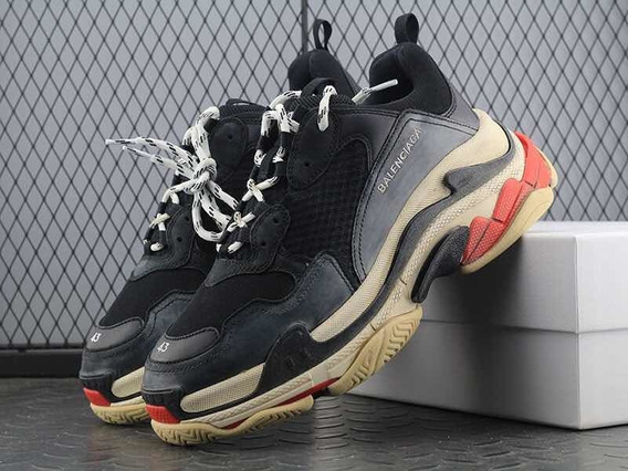 Zapatillas Balenciaga Triple S Black