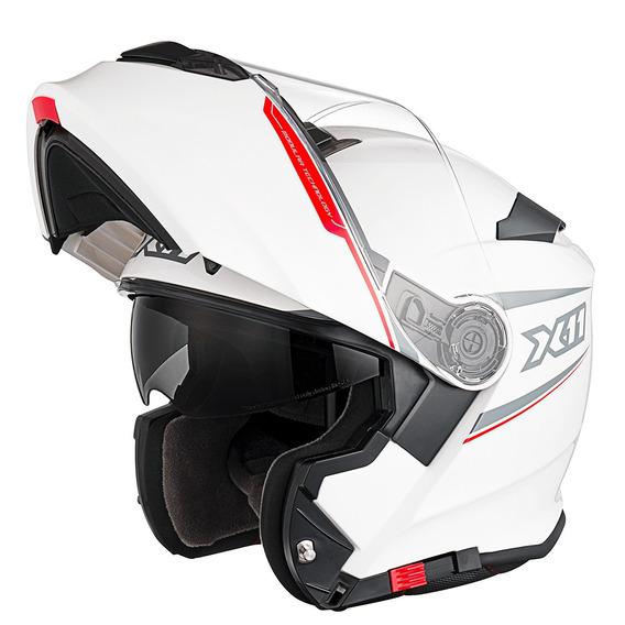 Capacete Motociclista X11 Turner Com Viseira Proteção Solar