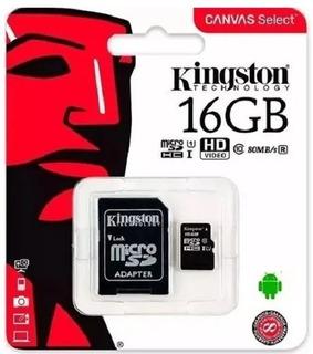 Micro Sd 16 Gb Kingston Original