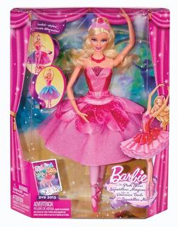 Barbie Bailarina Zapatillas Magicas Mattel