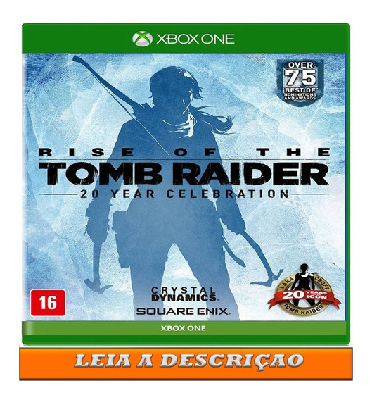 Rise Off The Tomb Raider 20 Anos X Box One