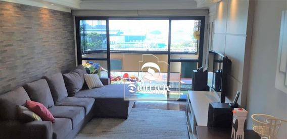 Apartamento Com 4 Dormitórios À Venda, 137 M² Por R$ 555.000,00 - Jardim - Santo André/sp - Ap12581
