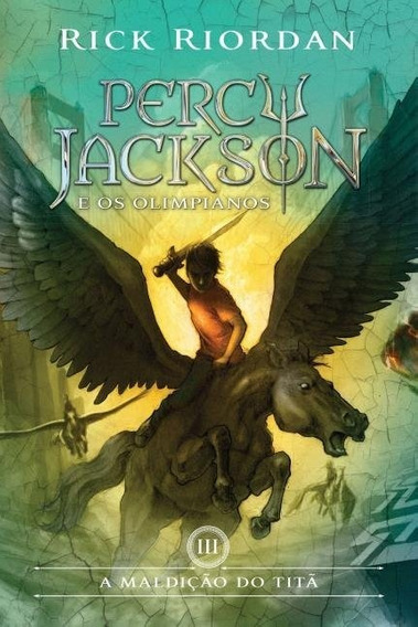 Livro Percy Jackson A Maldição Do Titã Capa Nova (livro 3)