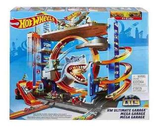 Hot Wheels Mega Garagem City Box - Ftb69 - 12x S/ Juros