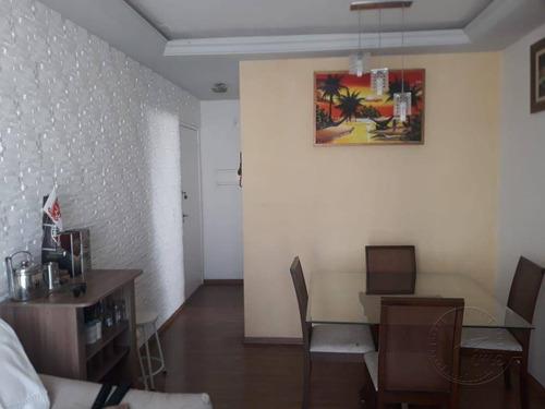Imagem 1 de 20 de Apartamento Com 3 Dormitórios À Venda, 67 M² Por R$ 370.000,00 - Jardim Tupanci - Barueri/sp - Ap1731
