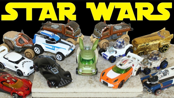 Carritos Hotwheels Star Wars Originales