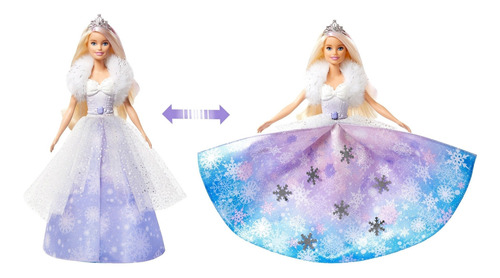Imagen 1 de 7 de Barbie Dreamtopia, Princesa Vestido Mágico