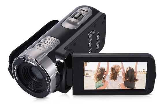 Negro De Vdeo Digital Dv Camcorder Obturador Da Camera