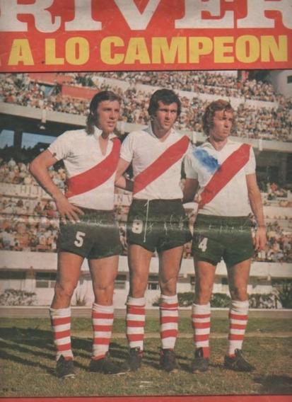 Revista Luminarias Deportivas * River Plate Año 1973 *