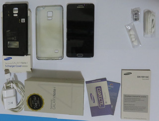 Celular Samsung Galaxy Note 4 Com Wireless Cover E Caixa